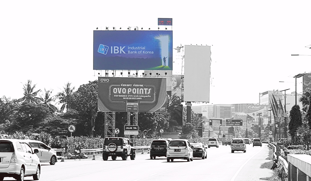 Produk- Billboard Frontlight