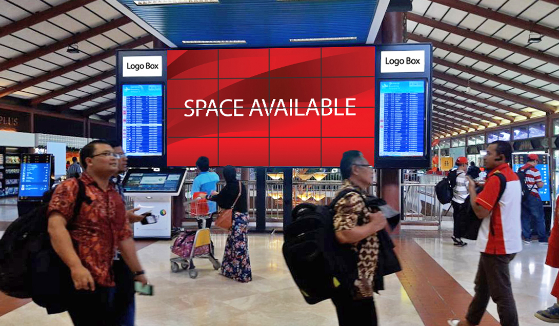VIDEO WALL – INTERNATIONAL DEPARTURE TERMINAL 2F