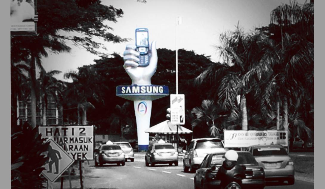SAMSUNG- 3D Mockup
